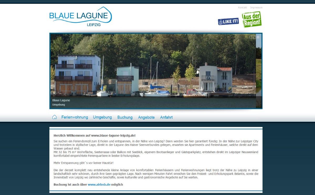 Blaue Lagune Leipzig - Ferienhaus am See