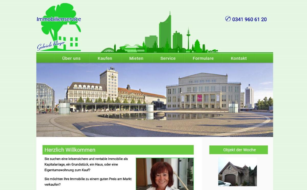 Immobilienservice Rieger - Immobilienmakler