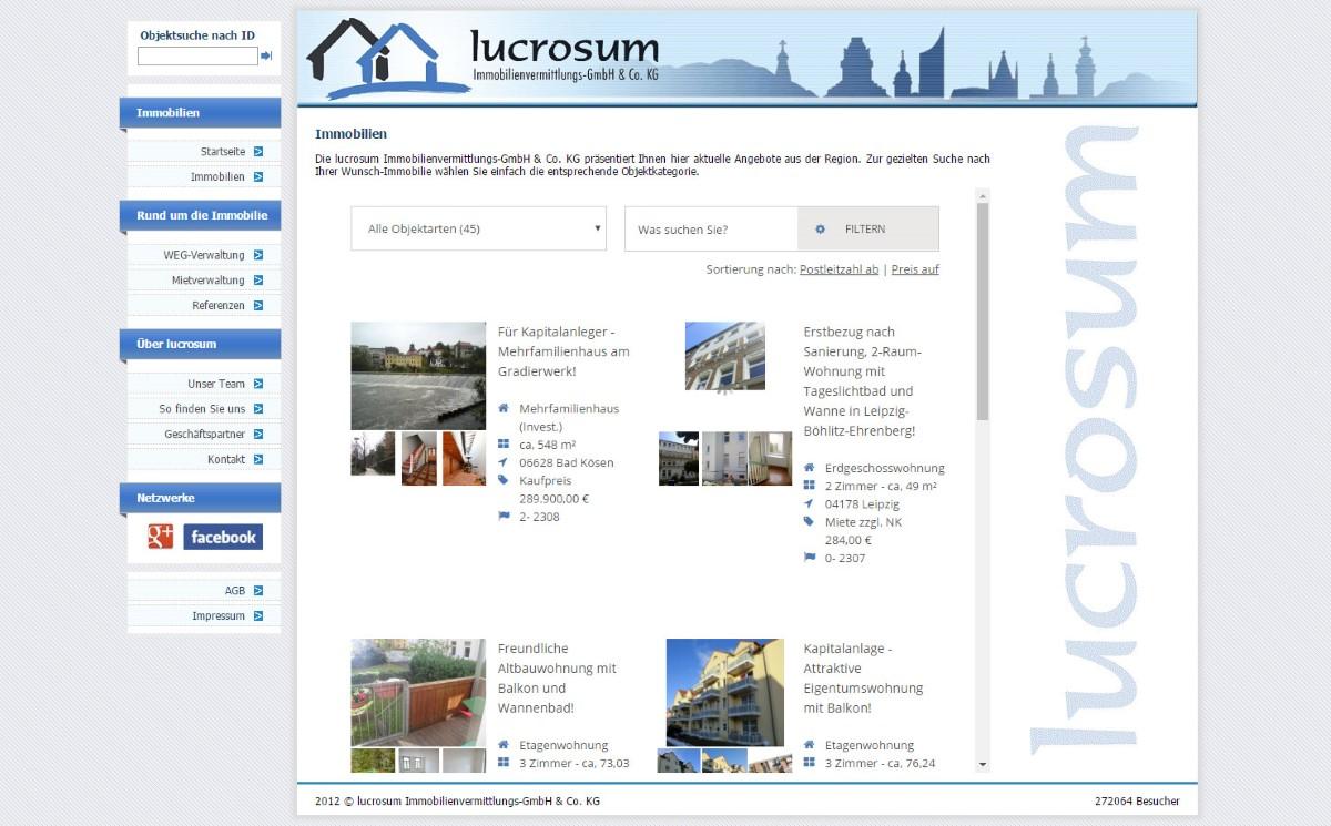 Lucrosum - Immobiliendienstleister