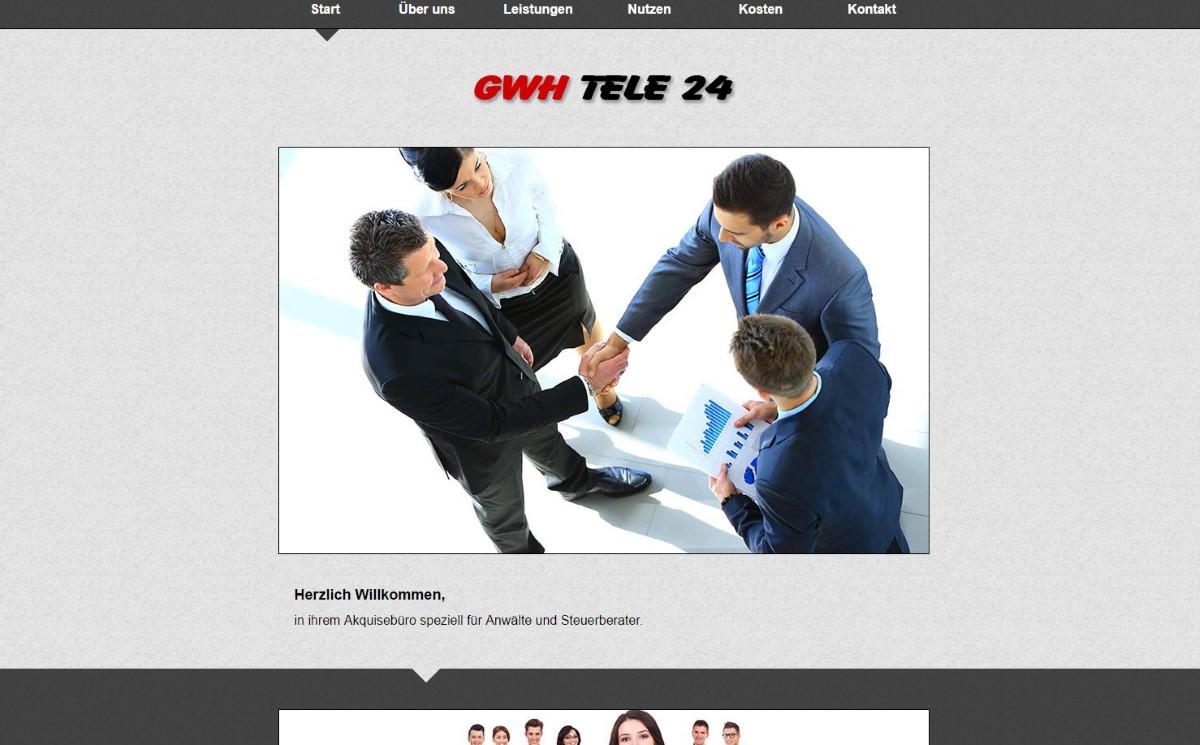 Tele24 - Firmenwebseite